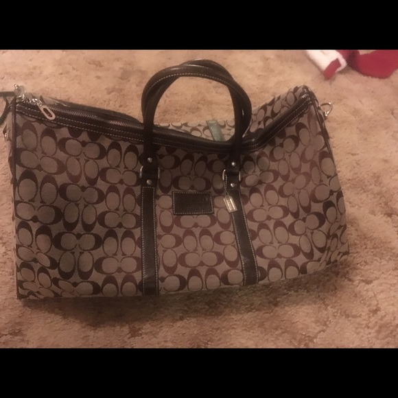 Handbags - COACH large shoulder or duffel bag
